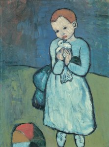 Pablo Picasso's Child with a Dove, 1901