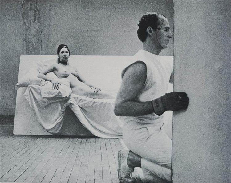 Robert Morris with Carolee Schneemann, Site, 1965